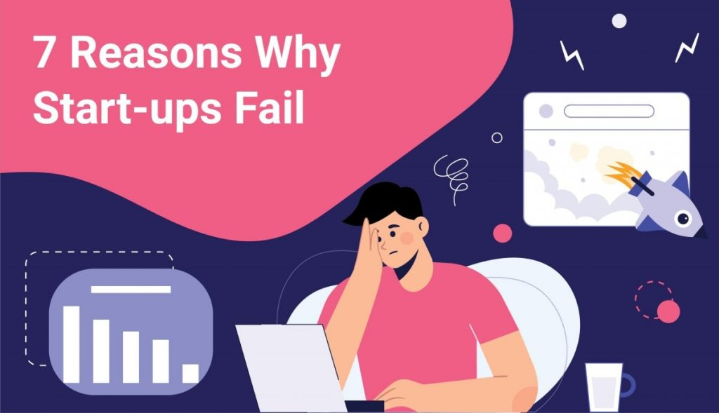 reasons why startup fails